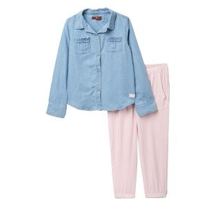 7 For All Mankind Denim Outfit